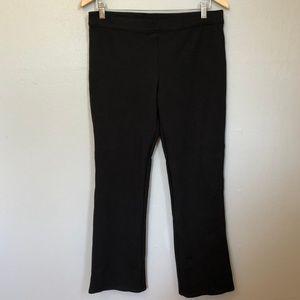 Max Studio Black Stretch Pants Leggings Size Large